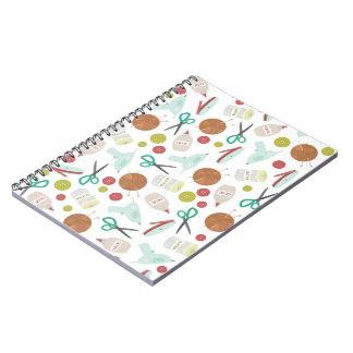 Arts & Crafts Themed Spiral Notebook