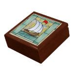 Arts & Crafts Treasure Keeper Box Jewelry Box