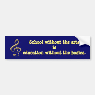Arts in Education Bumper Sticker