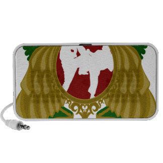 Arts png marcial iraní laptop altavoz
