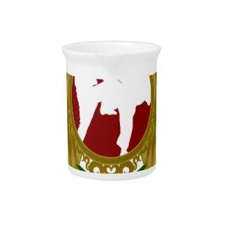 Arts png marcial iraní jarra de beber