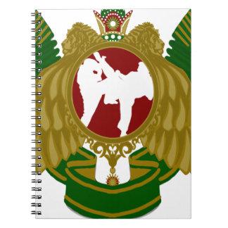 Arts png marcial iraní libro de apuntes con espiral