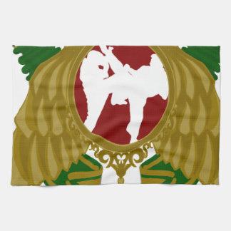 Arts png marcial iraní toallas de cocina