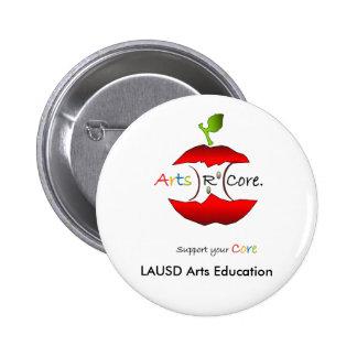 Arts R Core, LAUSD Arts Education Buttons