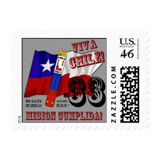 Arts To The World - Viva Chile Mision Cumplida Postage Stamp