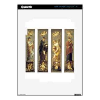 Arts, Wealth, Pleasure and Philosophy by Pierre Skin For iPad 3