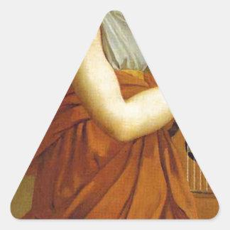 Arts, Wealth, Pleasure and Philosophy: Triangle Sticker