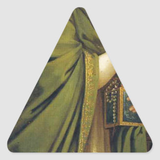 Arts, Wealth, Pleasure and Philosophy: Wealth Triangle Sticker