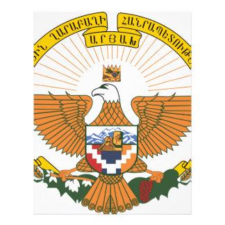 Artsakh (Nagorno-Karabakh) Coat of Arms Letterhead