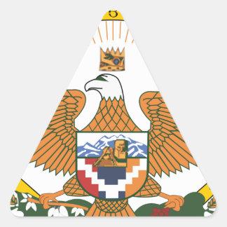 Artsakh (Nagorno-Karabakh) Coat of Arms Triangle Sticker