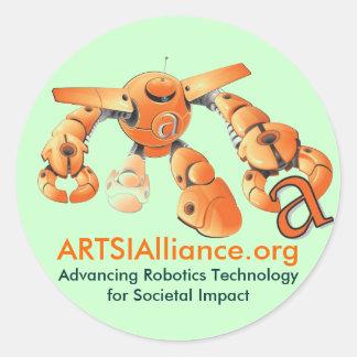 ARTSI Sticker Sheet
