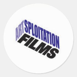 Artsploitation Films Stickers