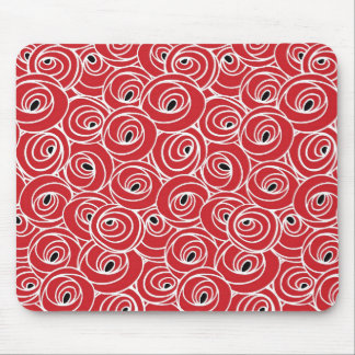 Artsy Abstract Art Design Mouse Pad