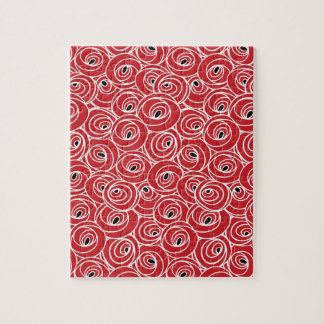 Artsy Abstract Art Design Puzzle