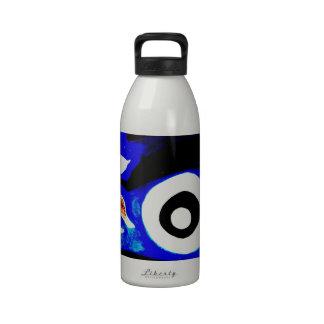 Artsy Abstract Graffitti Bold Design Reusable Water Bottle