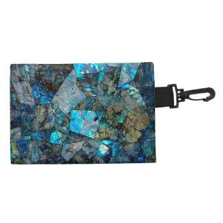 Artsy Abstract Labradorite Accessory Bag