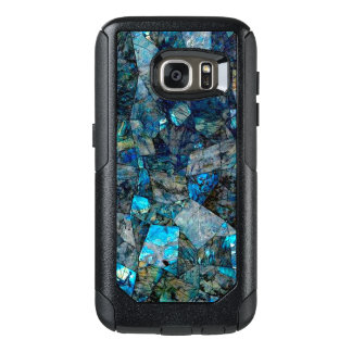 Artsy Abstract Labradorite Gems Galaxy S7 Case