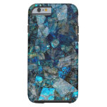 Artsy Abstract Labradorite Gems iPhone 6 Case