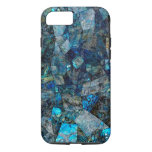Artsy Abstract Labradorite Gems iPhone 7 Case