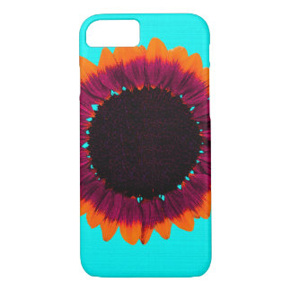 Artsy and Abstract Autumn Sunflower iPhone 7 Case