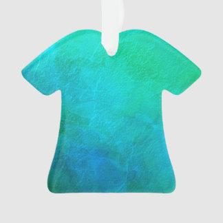 Artsy Aquamarine Ice Abstract Art