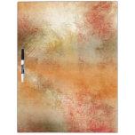 Artsy Autumn Abstract Dry Erase Board