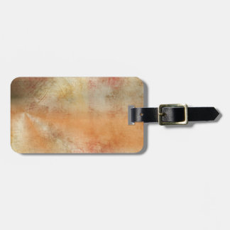 Artsy Autumn Abstract Luggage Tag