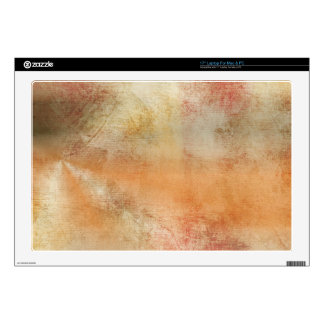 """Artsy Autumn Abstract Skin For 17"""" Laptop"""
