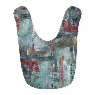 Beach Themed Artsy Bibs with Abstract Designs - WOW Factor!