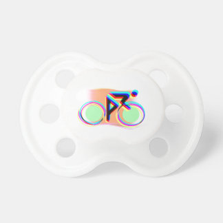 Artsy Bicycling Pacifier