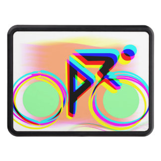 Artsy Bicycling Trailer Hitch Covers