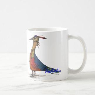 Artsy Bird and Bug Mug. Coffee Mug
