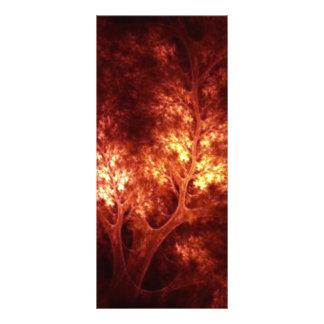 artsy_brown_trees rack card