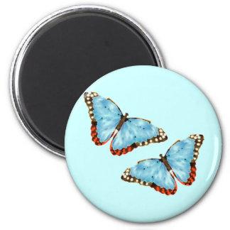 Artsy Butterflies Refrigerator Magnet