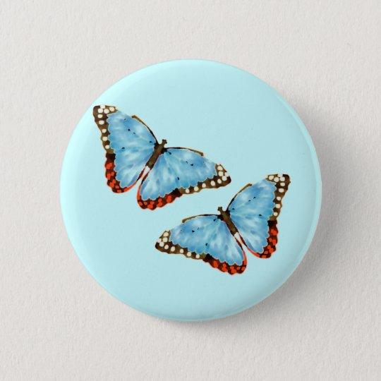 Artsy Butterflies Pinback Button