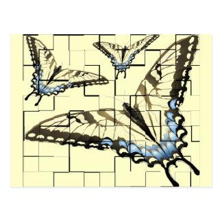 Artsy Butterflies Postcard