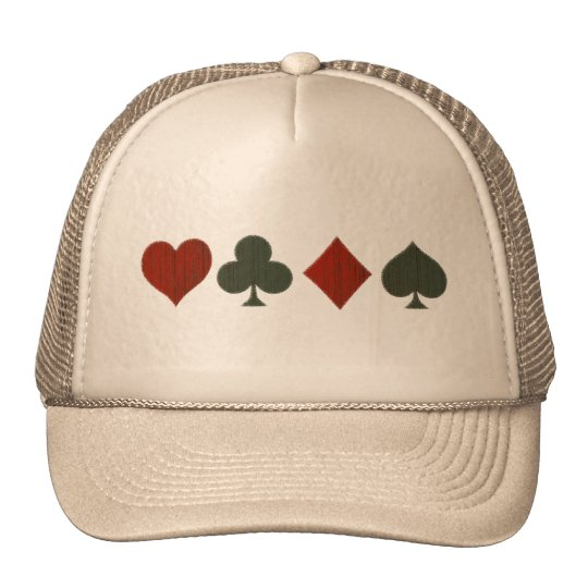 Artsy Card Symbols Trucker Hat