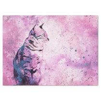 Artsy Cat Tissue Paper