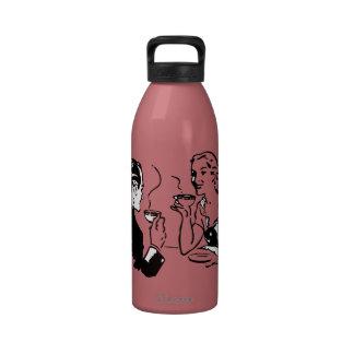 Artsy Coffee Date Reusable Water Bottles