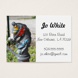 Artsy Colorful Horse Business Cards, New Orleans Business Card