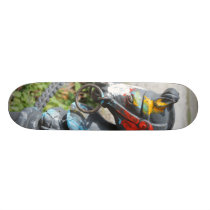 Artsy Colorful Horse Hitching Post, New Orleans Skateboard Deck