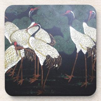 Artsy Cranes Drink Coaster