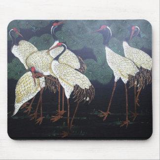 Artsy Cranes Mousepad