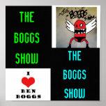 Artsy el poster de la demostración de Boggs