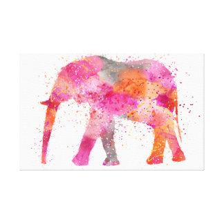 Artsy Elephant Canvas Print