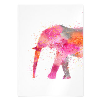 Artsy Elephant Magnetic Card