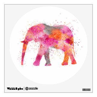 Artsy Elephant Wall Decal