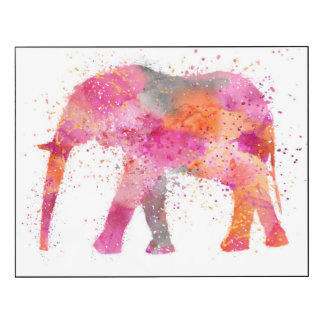 Artsy Elephant Wood Wall Art