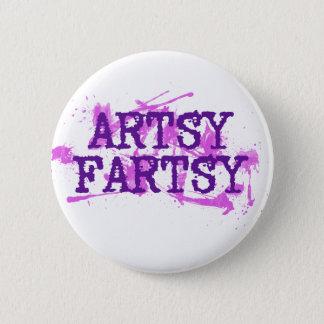 Artsy Fartsy Button