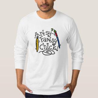 Artsy-Fartsy Chick T Shirt